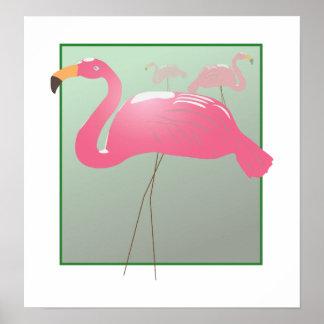 Pink Flamingo - AWARD WINNER Poster