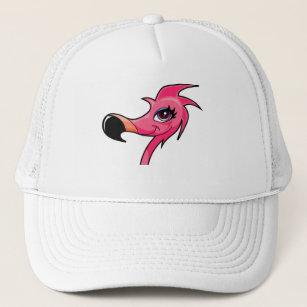 Pink Flamingo ballcap Trucker Hat 142020935ab