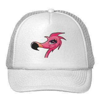 Pink Flamingo ballcap Trucker Hat
