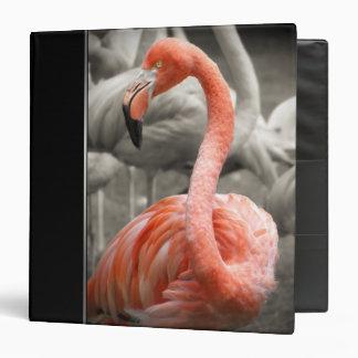 Pink Flamingo binder
