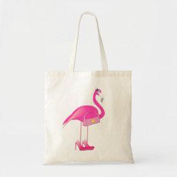 Pink Flamingo Budget Tote