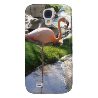 Pink Flamingo Galaxy S4 Covers