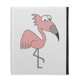 Pink Flamingo iPad Folio Covers