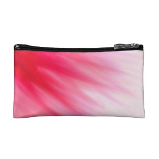 Pink Flamingo Cloud Watercolour Wash Makeup Bag