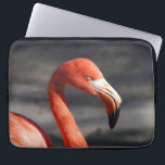 "Pink Flamingo Computer Sleeve<br><div class=""desc"">Close up photo of pink flamingo in the wild.</div>"