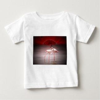 Pink Flamingo Dance Baby T-Shirt