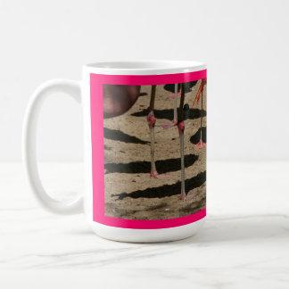 Pink Flamingo Feet Mug
