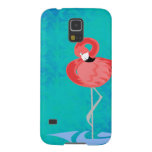 Pink Flamingo Galaxy S5 Cover