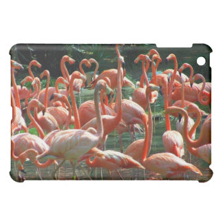 Pink Flamingo group, lots of flamingoes picture! Cover For The iPad Mini