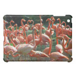 Pink Flamingo group, lots of flamingoes picture! iPad Mini Covers