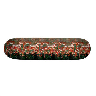 Pink Flamingo group lots of flamingoes picture Skate Decks