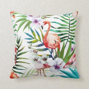 Flamingo Decorative Throw Pillows Zazzle