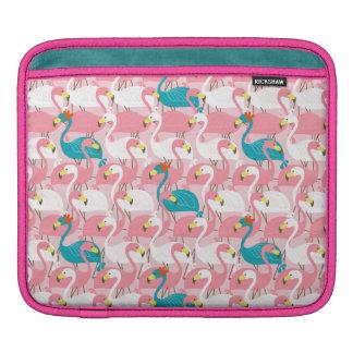 Pink Flamingo iPad Sleeves