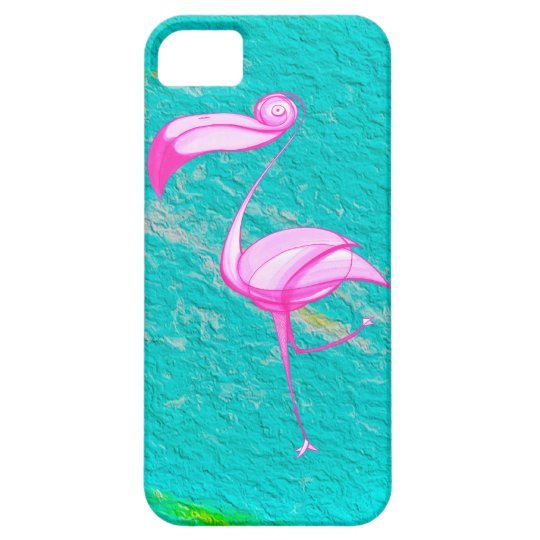 Pink Flamingo - iPhone - PELICAN FLY! iPhone SE/5/5s Case