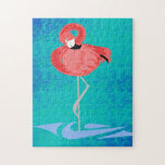 Pink Flamingo Jigsaw Puzzles