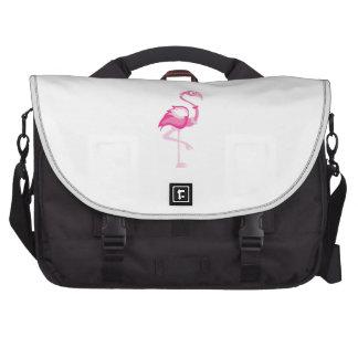 Pink Flamingo Commuter Bag