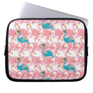 Pink Flamingo Laptop Computer Sleeve