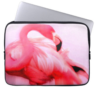 Pink Flamingo Laptop Computer Sleeves