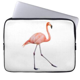 Pink Flamingo Computer Sleeves