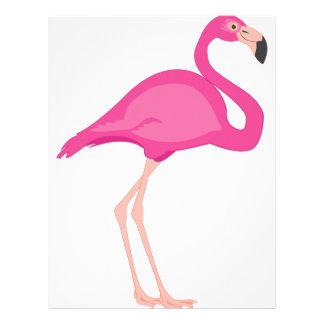 Pink Flamingo Letterhead