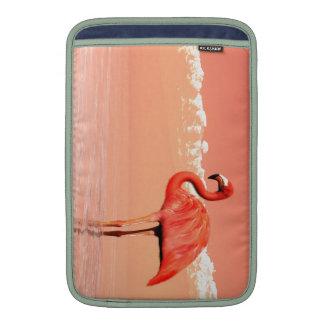 Pink flamingo MacBook sleeves