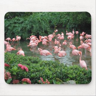Pink Flamingo Mousepad