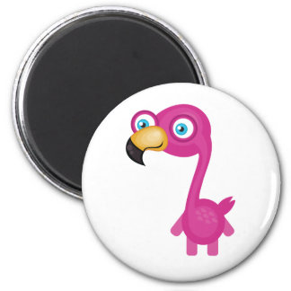 Pink Flamingo - My Conservation Park Refrigerator Magnets