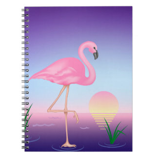 Pink Flamingo Notebook