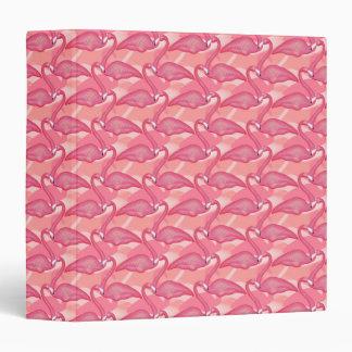 Pink Flamingo Notebook Vinyl Binder