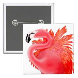 Pink Flamingo Pin