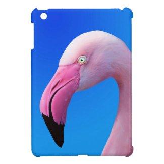 Pink Flamingo Portrait CloseUp iPad_Mini_Case iPad Mini Cases