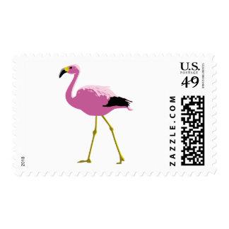 Pink Flamingo Postage