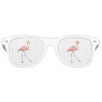 Pink Flamingo Retro Sunglasses