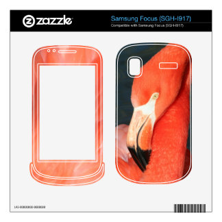 Pink Flamingo Samsung Focus SGH-I917 Skin Samsung Focus Skin