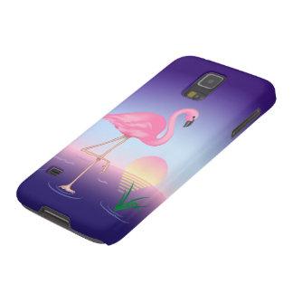 Pink Flamingo Samsung Galaxy S5 Case