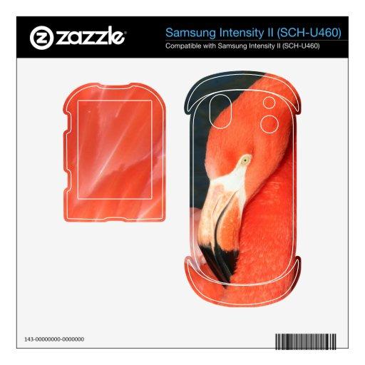 Pink Flamingo Samsung Intensity II (SCH-U460) Skin Samsung Intensity Skin
