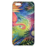 Pink Flamingo Sanibel Midnight Cover For iPhone 5C