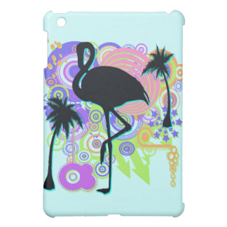 Pink Flamingo Silhouette Cover For The iPad Mini