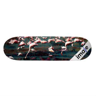 Pink Flamingo Skateboard Deck