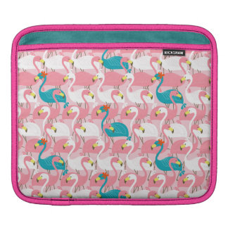 Pink Flamingo Sleeve For iPads