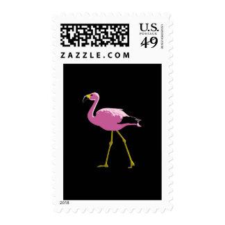 Pink Flamingo Stamp