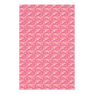 Pink Flamingo Customized Stationery