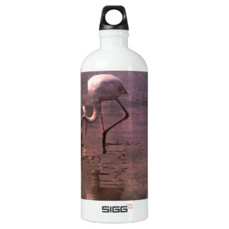 Pink Flamingo Sunrise Image SIGG Traveler 1.0L Water Bottle