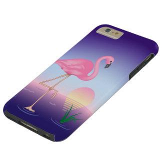 Pink Flamingo Tough iPhone 6 Plus Case
