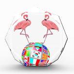 pink flamingo world domination award