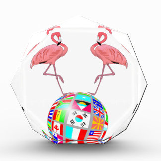 pink flamingo world domination award