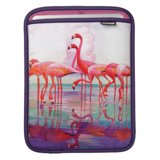 Pink Flamingos by Francis Lee Jaques Sleeve For iPads