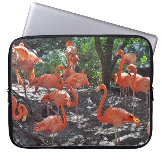 Pink Flamingos Computer Sleeve