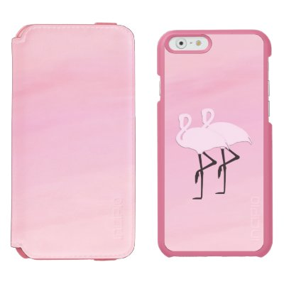Pink Flamingos Incipio iPhone Wallet Case