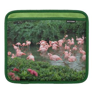 Pink Flamingos iPad Sleeve